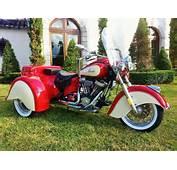 Indian Chief Vintage Trike Harley Davidson Custom Motorcycles