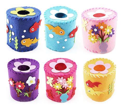 Felt Paper Crafts Ideas - diy craft kit nonwoven felt tissue toilet paper