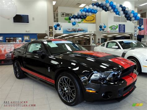 mustang gt500 black 2013 ford mustang shelby gt500 svt performance package