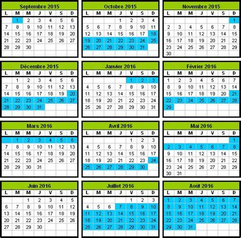 Calendrier Scolaire Belge 2015 16 Calendrier Scolaire 2015 2016