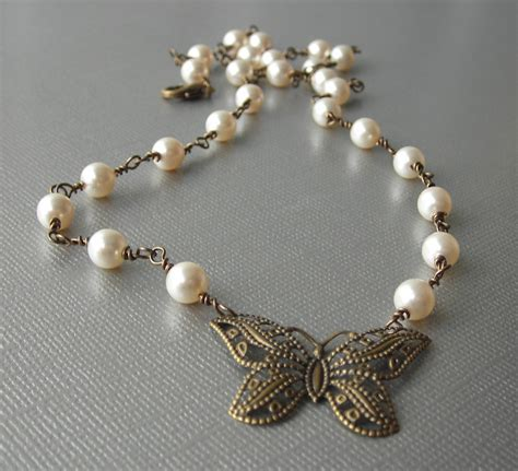 Etsy Handmade Beaded Jewelry - bridal handcrafted jewelry swarovski necklace
