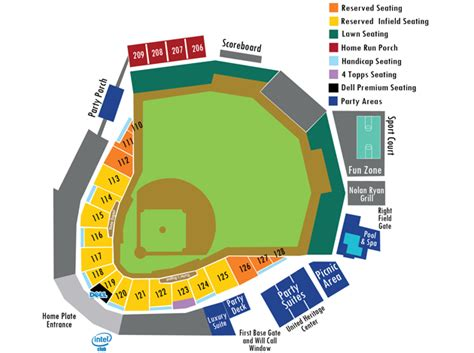 mccoy stadium seating chart seating chart ticket prices rock express tickets