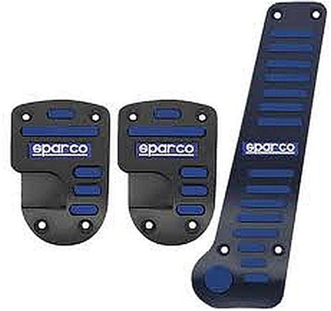 Pedal Racing Sparco Corsa Black Rubber Manual sparco sp03786 stripe pedal set discontinued