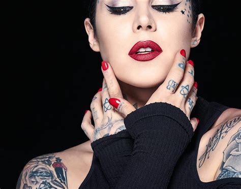 tattoo artist kat von d creates vegan makeup line star2 com