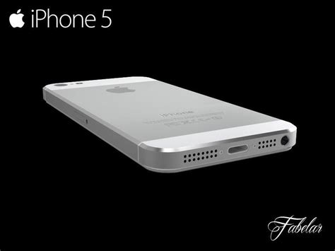 iphone 5 free free 3d model max obj 3ds fbx c4d dae cgtrader