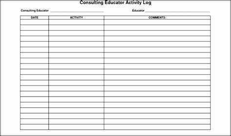 Police Daily Activity Report Template