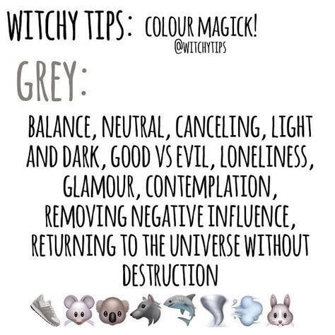 how to spell grey the color witchy tips colour magick grey colors color magick