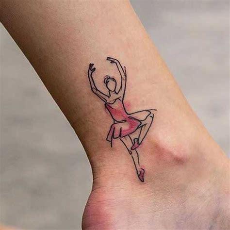 25 fotos de tatuagens de bailarinas delicadas