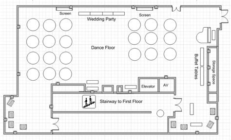 wedding floor plan template dining center banquet hall wedding floor plan wedding