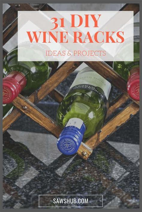 diy wine rack ideas  plans    sawshub