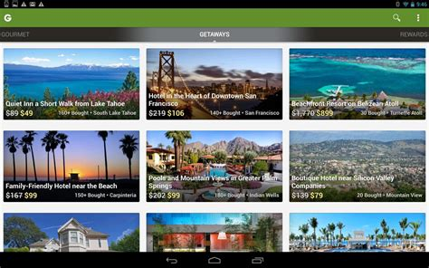 android deals groupon daily deals coupons android app review