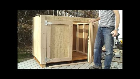 hang shed doors   build  generator