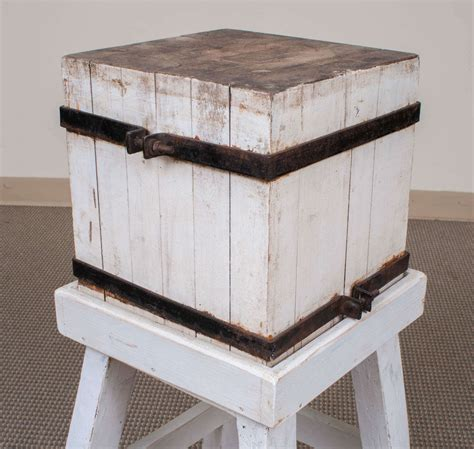 painted butchers block painted maple butcher s block at 1stdibs