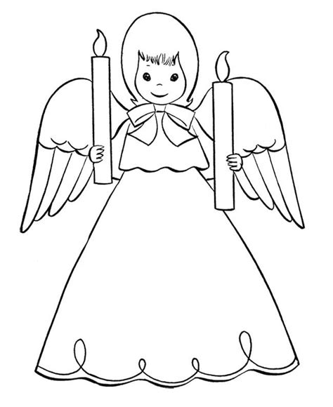 printable christmas angel ornaments 19 best christmas angel coloring page images on pinterest