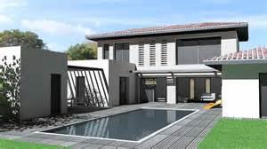 maison d architecte contemporaine toit tuiles et terrasse
