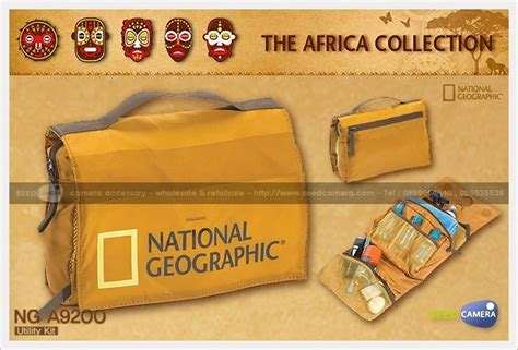 National Geographic Africa A9200 Utility Kit Original national geographic africa a9200 utility kit bag seedcamera