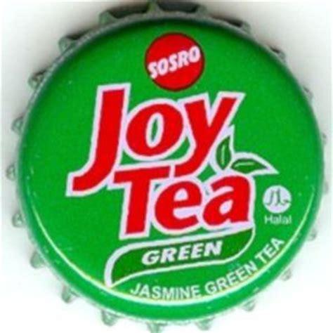 Teh Botol Sosro Green Tea tutup botol sosro tea pt sinar sosro indonesia
