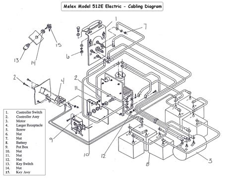 club cart parts diagram melex battery wiring diagram wiring diagram with description