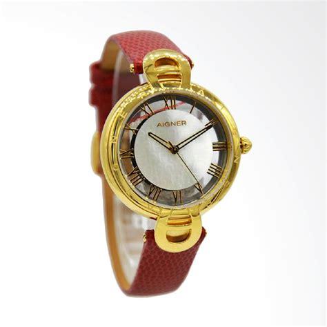 Jam Tangan Aigner Gold jual aigner a24275 resana jam tangan wanita merah ring gold harga kualitas terjamin