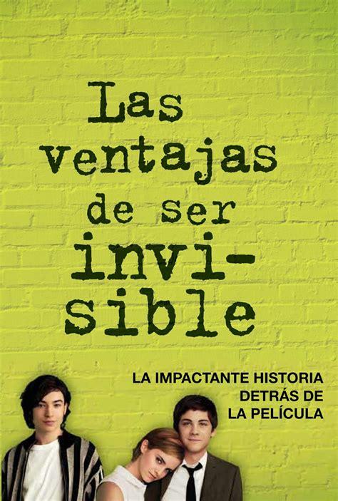 pasa con un libro las ventajas de ser invisible