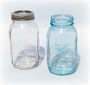 diy vintage blue mason jars the little gsp