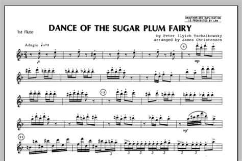 Of The Sugar Plumb by Of The Sugar Plum Flute 1 Sheet Direct