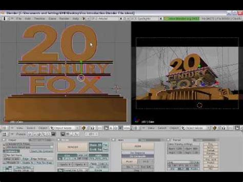 templates for blender 20th century fox how to make a 20th century fox intro with blender youtube