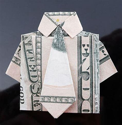 Dollar Bill T Shirt Origami - gorgeous dollar bill origami 35 pics