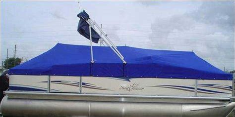 crest pontoon boat covers with snaps pontoon boat blue point mitula cars