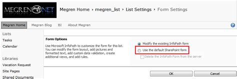 reset sharepoint online to default how to reset sharepoint 2010 list forms from infopath to
