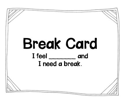 I Need A Card Template by Assistive Technology Broken July 2014