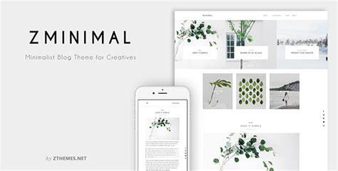 blogger themes 2015 minimalist zminimal minimalist blog theme for creatives
