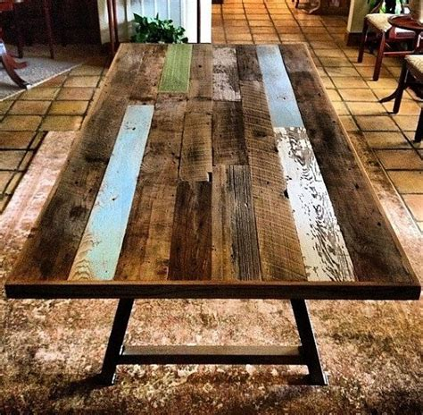 reclaimed wood dining table with bench reclaimed wood steel dining table with bench