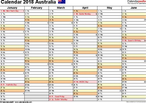 Kosovo Calendã 2018 Calendar For 2018 Australia 28 Images Printable 2018
