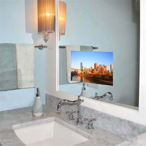 bathroom tv sale seura television mirror on sale mission west