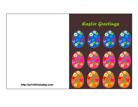 printable children s easter cards easter cards