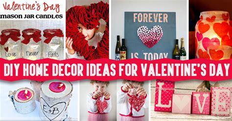 Valentines Day Diy Decorations by Diy Home Decor Ideas For S Day Diy Projects