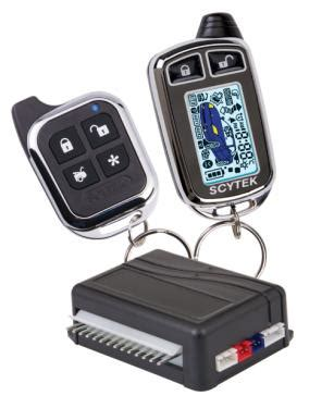 Cctv It Pro 777 scytek astra 777 c complete 2 way mini alarm remote