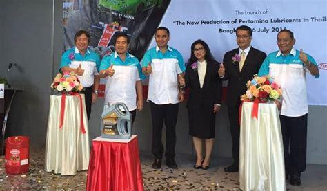 Pelumas Pertamina Fastron pertamina luncurkan pelumas fastron di thailand autos id