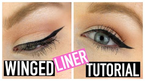 easy eyeliner tutorial youtube easy winged eyeliner tutorial youtube