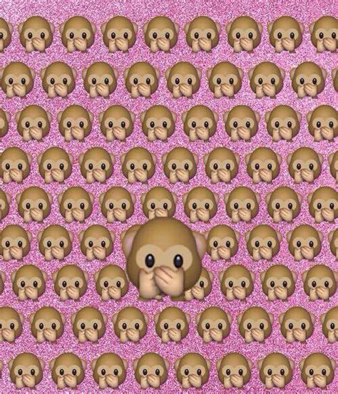 wallpaper emoji whatsapp monkey emoji wallpaper wallpapersafari