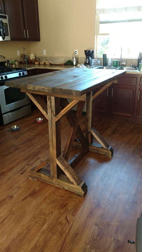 bar height farmhouse table best 25 pub tables ideas on diy table legs