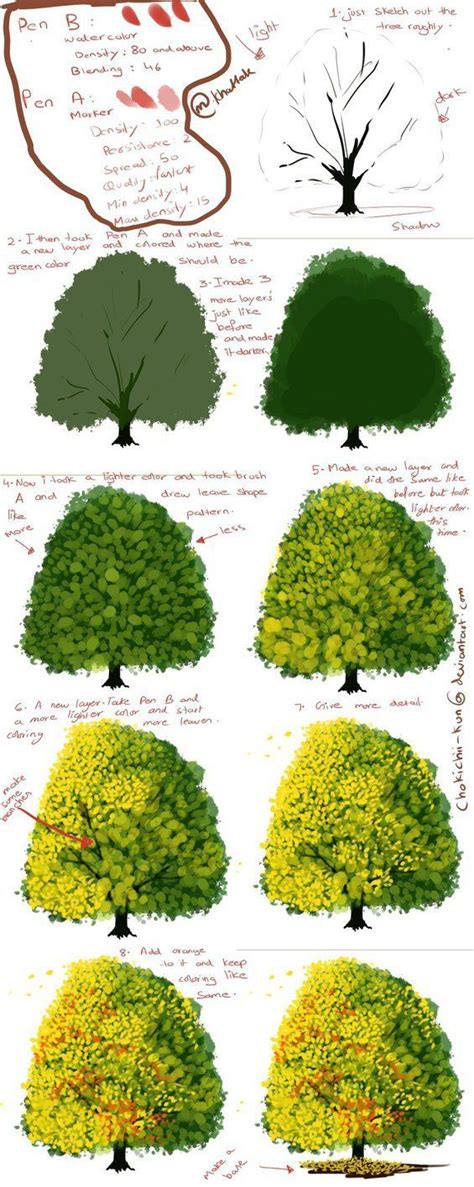 b tree drawing tool 25 best ideas about paint tool sai on paint