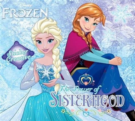 Sticker Creative Frozen The Power Of Sisterhood Oleh Disney bukukita sticker creative frozen the power of