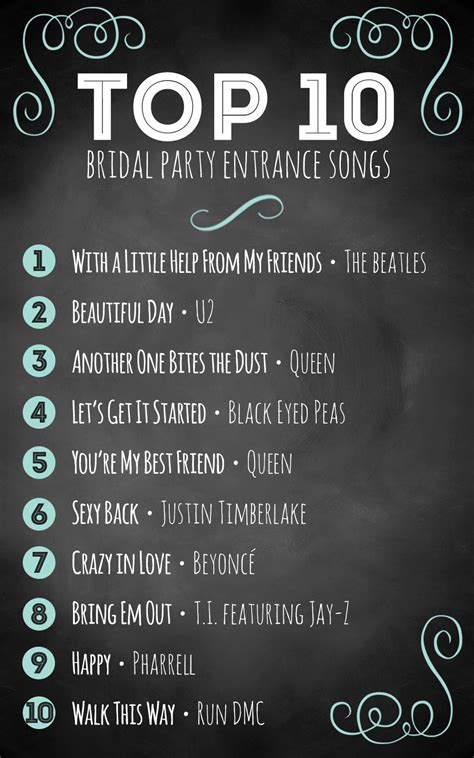 Vintage Wedding Song List by Top 10 Bridal Entrance Songs Wedding Advice