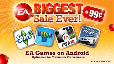 ea for android ea are available on android and on sale ea news
