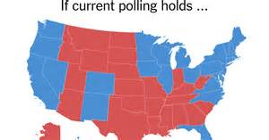 current us election map the electoral map looks challenging for the new