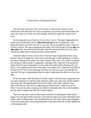 Characteristics Of An Expository Essay by What Characteristics Make These Essays Expository 2 1 What Characteristics Make These Essays
