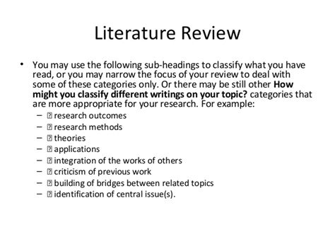 Literature Review How To Write Introduction by Title Abstract Introduction Literature Review