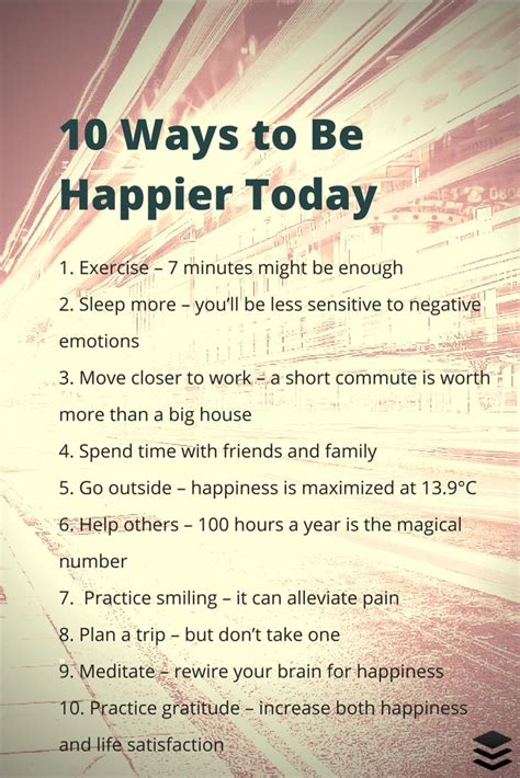 30 Day Faith Detox Challenge by 10 Simple Things You Can Do Today That Will Make You Happy